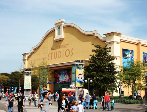 Video: Walking through Studio 1 Walt Disney Studios Paris june 2015